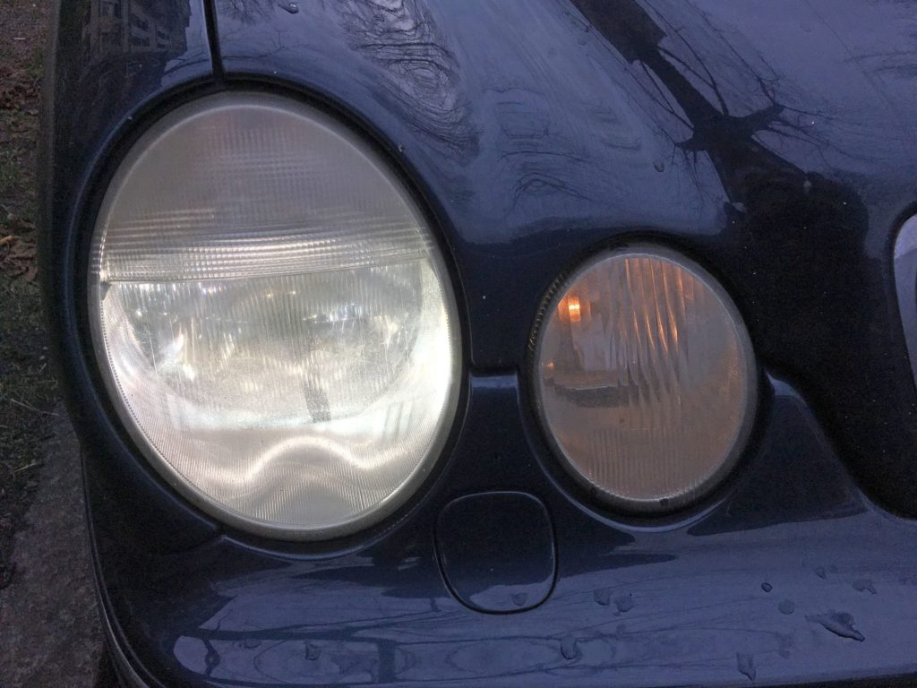 Headlights Mercedes