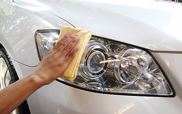 Headlight washer